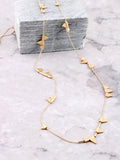 Pennant Wrap Necklace Anarchy Street Gold