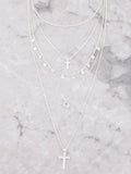 Blessed Layered Choker Anarchy Street Silver