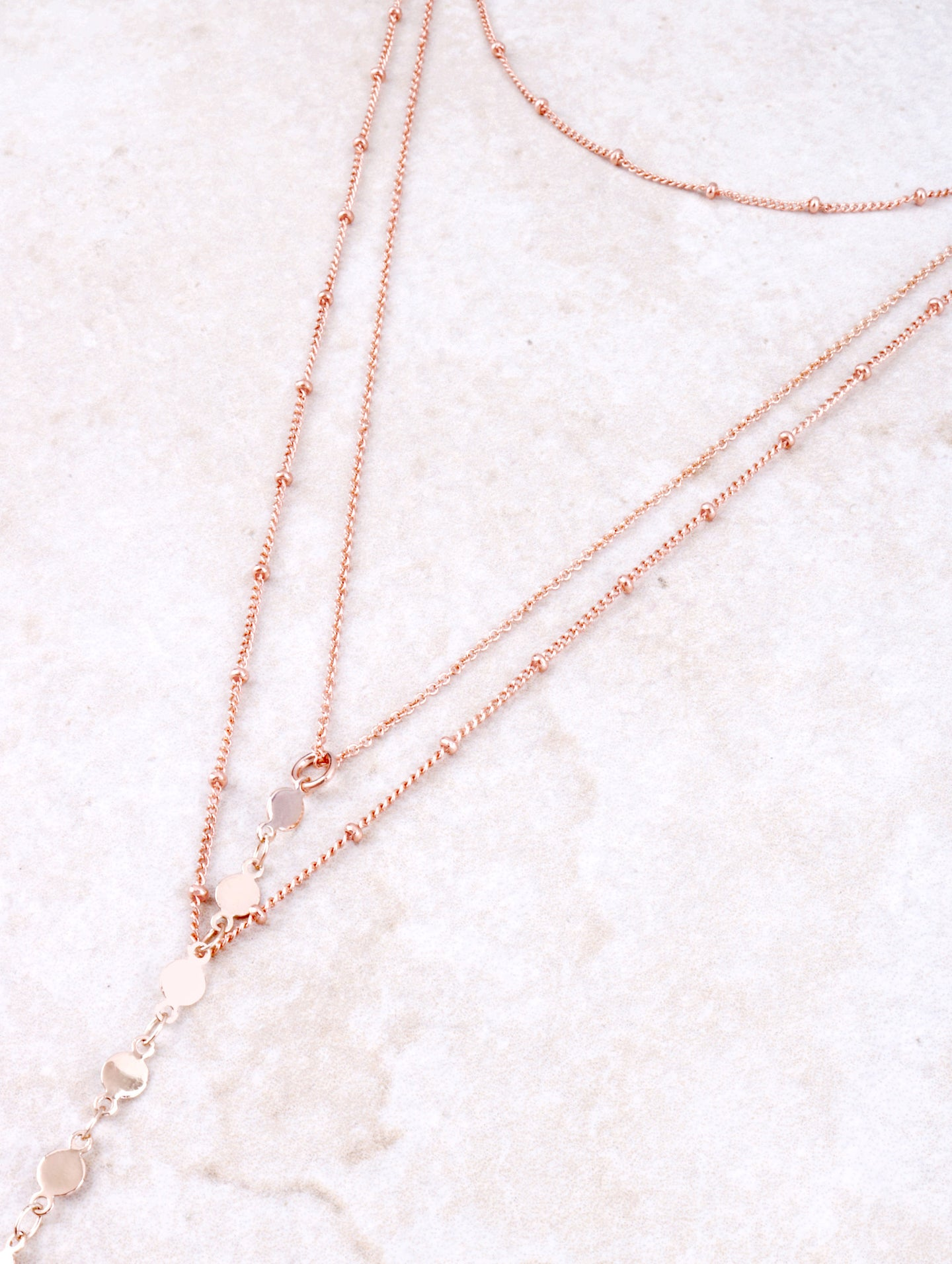 Thousand And One Balls Choker Anarchy Street Rosegold