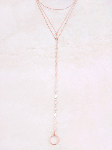 Thousand And One Balls Choker Anarchy Street Rosegold - Details