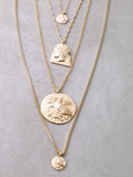 Olympian Layered Necklace Set