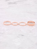 Classic Stacking Ring Set Anarchy Street Rosegold