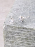 Sweetheart Stud Earrings Anarchy Street Silver