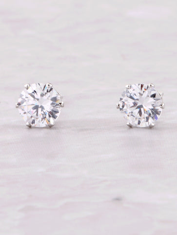 Sweetheart Stud Earrings Anarchy Street Silver - Details