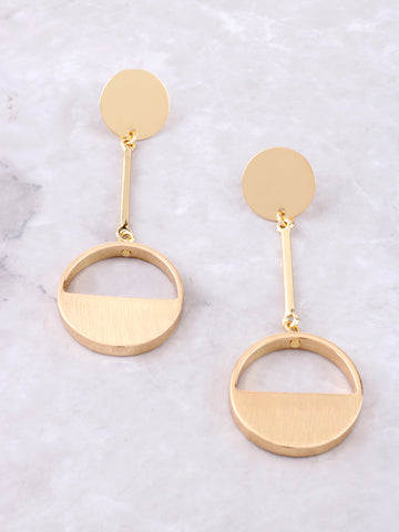 Coin Drop Earring Anarchy Street Gold