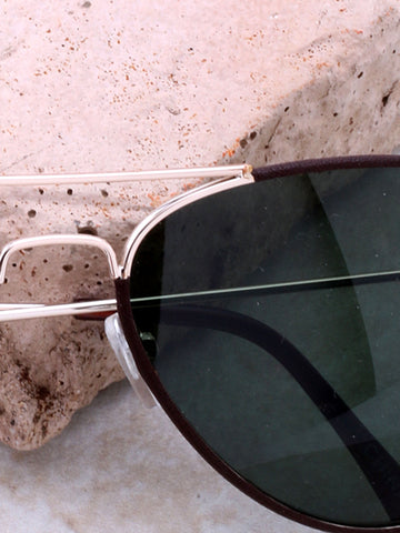 Odyssey Aviator Sunglasses Anarchy Street Brown_Green_Gold - Details