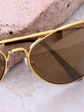 Zeus Aviator Sunglasses Anarchy Street Gold_Gold - Details
