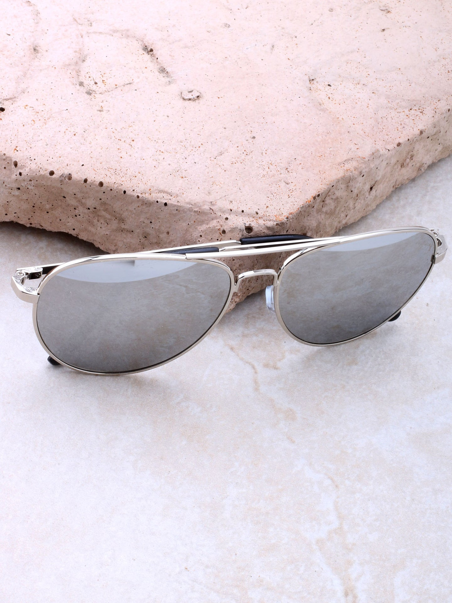 Robot Aviator Sunglasses Anarchy Street Gold_Rose_Tortoise