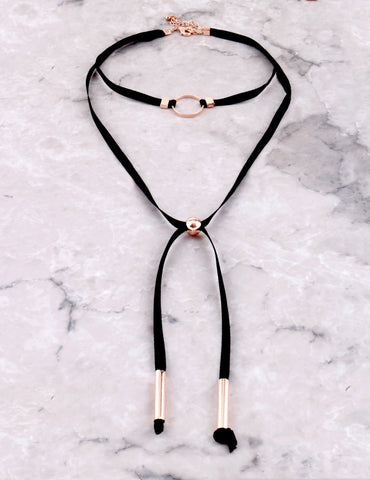 Textured Loop Choker Anarchy Street Black