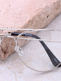 Smarty Pants Aviator Sunglasses Anarchy Street Silver_Clear_Black - Details