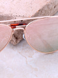 Paradise Aviator Sunglasses Anarchy Street Gold_Rose_Tortoise - Details