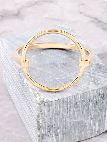 Textured Loop Bracelet Anarchy Street Nude