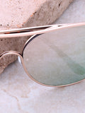Low Tide Aviator Sunglasses Anarchy Street Gold_Rose - Details