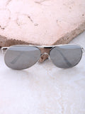 Low Tide Aviator Sunglasses Anarchy Street Silver_Silver