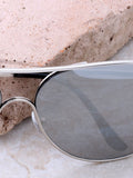 Low Tide Aviator Sunglasses Anarchy Street Silver_Silver - Details