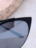 Eclipse Cat Eye Sunglasses Anarchy Street Black_Gray - Details