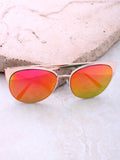 Eclipse Cat Eye Sunglasses Anarchy Street Gold_Pink-Orange