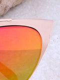 Eclipse Cat Eye Sunglasses Anarchy Street Gold_Pink-Orange - Details