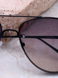 Paradise Aviator Sunglasses Anarchy Street Black_Smoke - Details