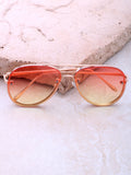 Paradise Aviator Sunglasses Anarchy Street Gold_Yellow-Orange