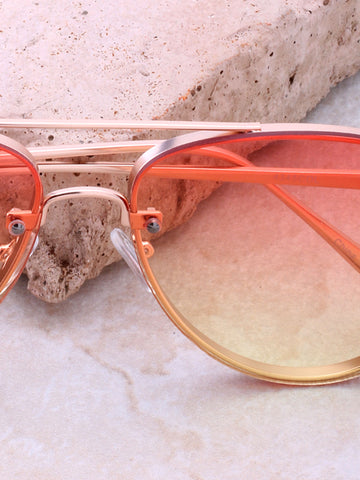 Paradise Aviator Sunglasses Anarchy Street Gold_Yellow-Orange - Details