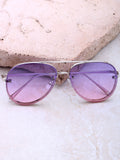 Paradise Aviator Sunglasses Anarchy Street Silver_Purple
