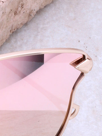 Liquid Cat Eye Sunglasses Anarchy Street Gold_Rose - Details