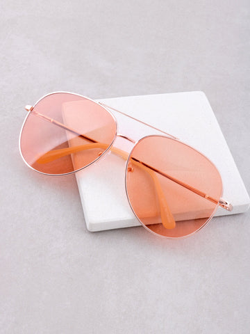 The Playa Sunglasses Anarchy Street Orange