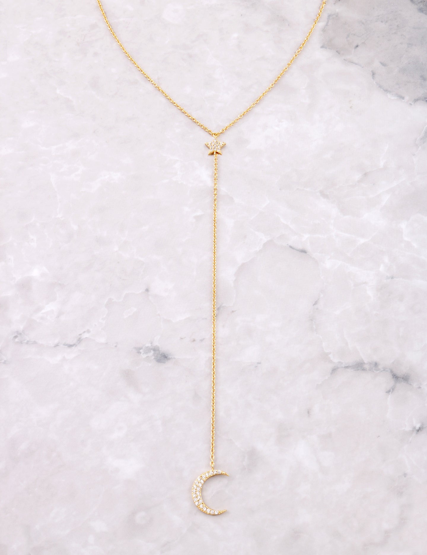 Starlight Lariat Necklace Anarchy Street Gold
