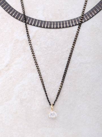 Onyx Double Choker Anarchy Street Gold - Details