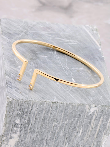 Twisted Bracelet Anarchy Street Gold