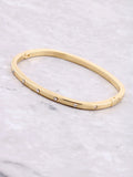 Crystal Stacking Bangle Bracelet Anarchy Street Gold