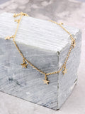 Starry Nights Anklet Anarchy Street Gold