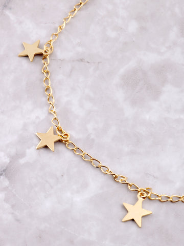 Starry Nights Anklet Anarchy Street Gold - Details