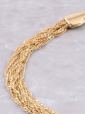 Twisted Chains Anklet Anarchy Street Gold - Details