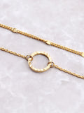 Circle Drop Anklet Anarchy Street Gold - Details