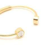 Screw Bangle - Gold - Anarchy Street  - 2