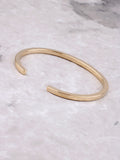 Flat Bangle Bracelet Anarchy Street Gold