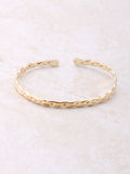 Braided Cuff Bracelet Anarchy Street Gold