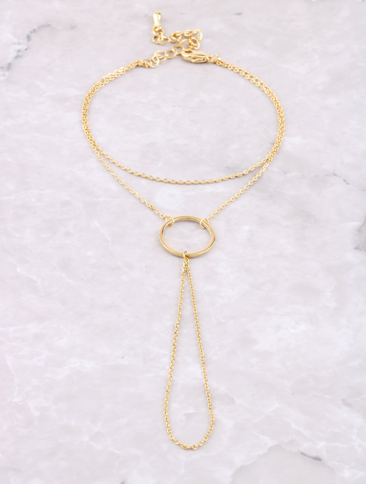 Open Loop Hand Chain Anarchy Street Gold