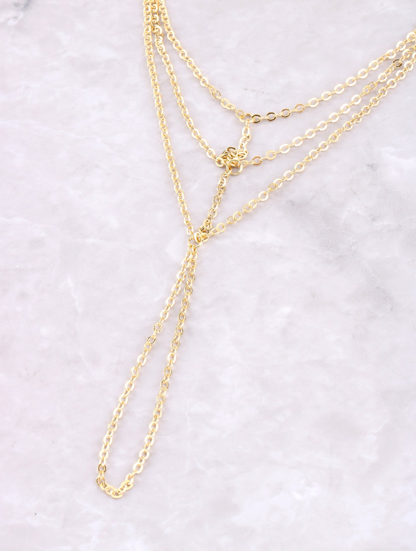 Hanging Web Hand Chain Anarchy Street Gold