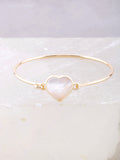 Glazed Heart Bracelet Anarchy Street Gold