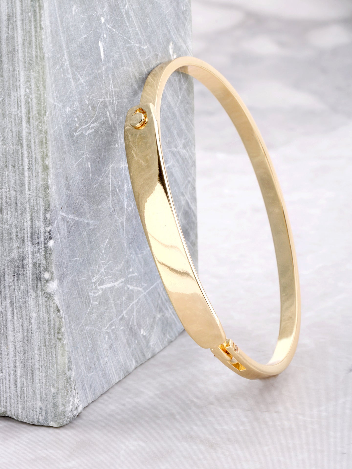 Bar Latch Bracelet Anarchy Street Gold