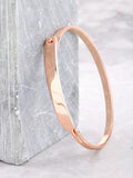 Bar Latch Bracelet Anarchy Street Rosegold
