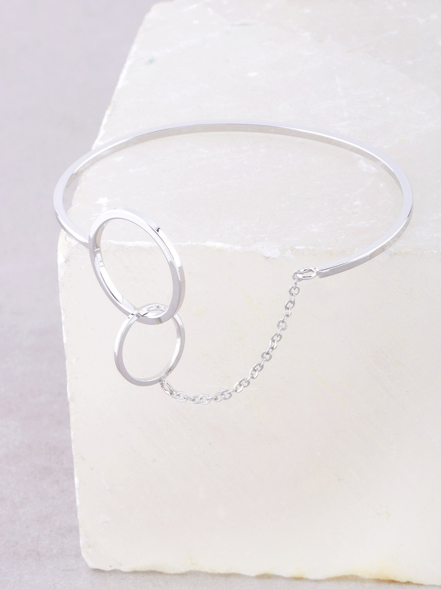 Loop Chain Bracelet Anarchy Street Silver