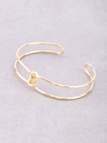 Knot Loop Bracelet Anarchy Street Gold