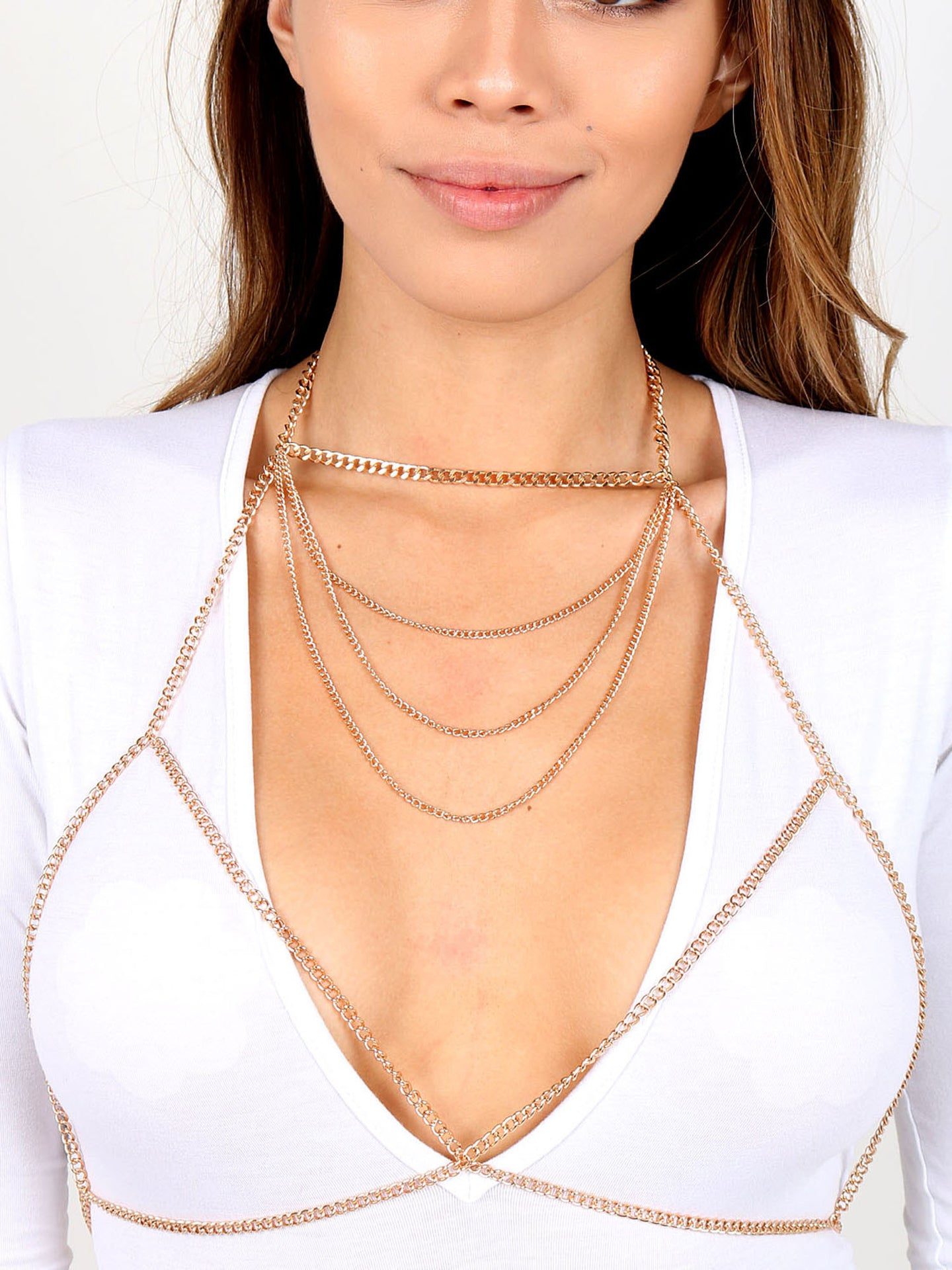 Chained Up Bra Chain