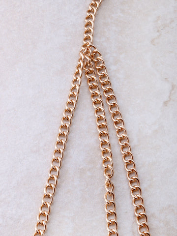 Chained Up Bra Chain Anarchy Street Gold - Details