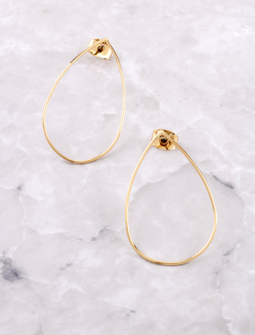Teardrop Earring Anarchy Street Gold