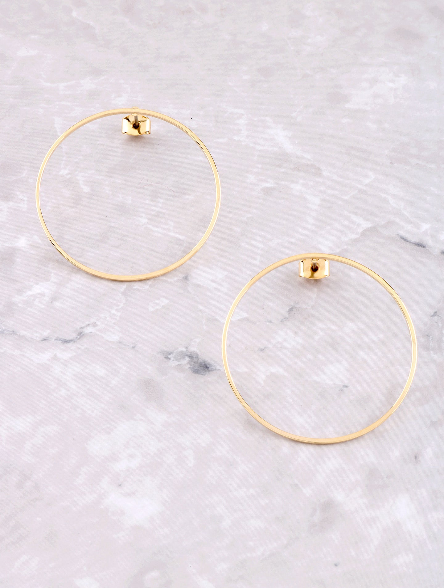 Hanging Loop Earring Anarchy Street Gold